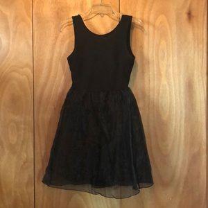 Forever21 black tutu dress